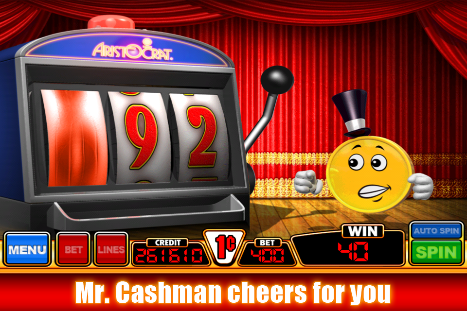 Screenshot Cashman I Heart Diamonds casino slot game